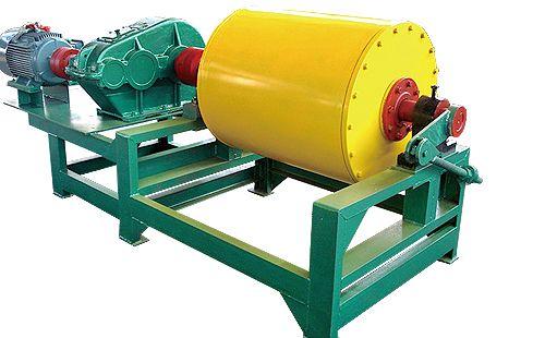 干式磁选机的使用有效提高了选矿效率